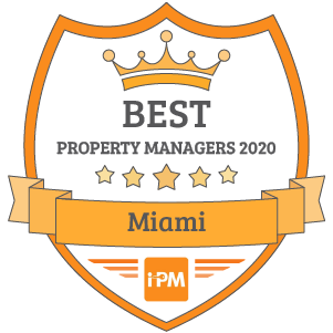 Best Property Managers in Miami 2020 Badge